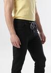 Czarne Spodnie Shively