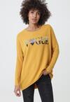 Żółty Sweter Macfarlane