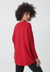 Czerwony Sweter Macfarlane