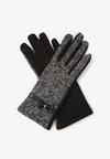 Czarne Rękawiczki Dahlman