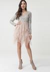 Beżowa Sukienka Millard