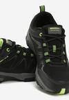 Czarno-Zielone Buty Sportowe Valdez