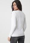 Biały Sweter Bowers