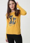 Żółty Sweter Bowers