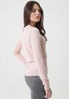Różowy Sweter Dennis