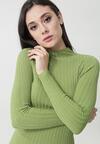 Jasnozielony Sweter Aaliya