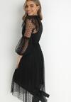 Czarna Sukienka Tierney