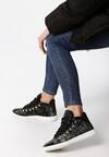 Czarne Sneakersy Millington