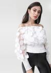Biała Bluzka Allegra