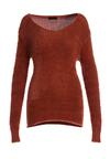 Brązowy Sweter No Care