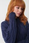 Granatowy Sweter Buttermilk