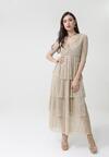 Beżowa Sukienka Giuseppina