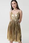 Złota Sukienka Adelasia