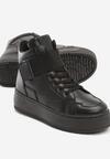 Czarne Sneakersy Lubna