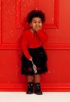 Czarno-Czerwona Sukienka Cooke