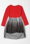 Czarno-Czerwona Sukienka Kathleen