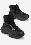 Czarne Sneakersy Masson