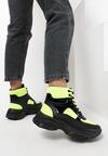 Żółte Sneakersy Masson