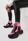 Różowe Sneakersy Masson