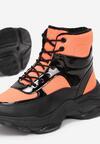 Pomarańczowe Sneakersy Masson