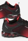 Czerwono-Czarne Buty Sportowe Mccarty