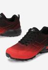 Czerwono-Czarne Buty Sportowe Stafford