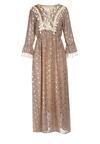 Beżowa Sukienka Bronwyn