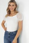 Biała Bluzka Horne