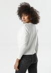 Biały Sweter Buxton