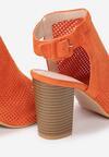 Pomarańczowe Sandały Edmonds