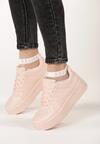 Różowe Sneakersy Raymond