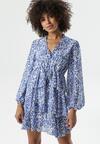 Niebieska Sukienka Denton