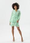 Jasnozielona Sukienka Denton