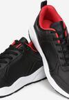 Czarno-Czerwone Buty Sportowe Redmond