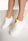 Biało-Żółte Sneakersy Phillips
