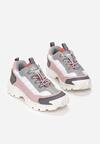 Różowo-Szare Buty Sportowe Metcalfe