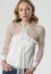 Biała Bluzka Clodagh