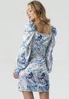 Niebieska Sukienka Davis