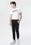 Czarne Spodnie Bouvet