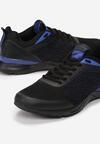 Czarno-Niebieskie Buty Sportowe Nieves