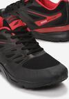 Czarno-Czerwone Buty Sportowe Tonisha