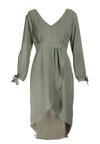 Zielona Sukienka Travers