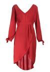Czerwona Sukienka Travers