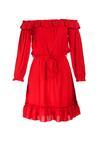Czerwona Sukienka Pritchard