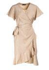 Jasnobeżowa Sukienka Marcia