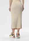 Jasnobeżowa Spódnica Liyana
