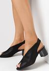 Czarne Sandały Underwood
