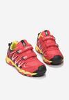 Żółto-Czerwone Buty Sportowe Cian