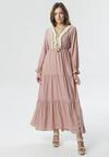 Różowa Sukienka Reply