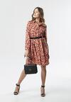Łososiowa Sukienka Aden